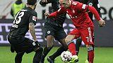 Allemagne: Munich gagne à Francfort avec un doublé de Ribéry