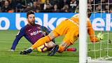 Barca ease past Celta to end year top of La Liga
