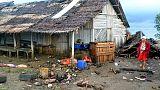 ما لا يقل عن 222 قتيلا في تسونامي بسبب بركان في إندونيسيا