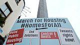 Dublin: la crise immobilière pénalise de nombreux habitants