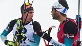 Biathlon: Fourcade, vivement les vacances