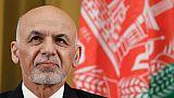 Le président afghan Ashraf Ghani à Genève le 27 novembre 2018
