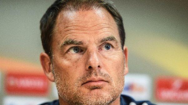 De Boer nuovo tecnico Atlanta United