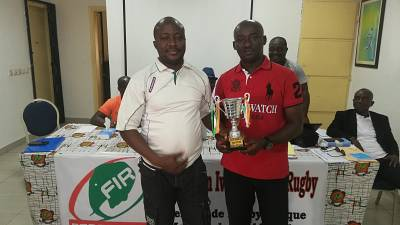 Rugby - Côte d'Ivoire : Sagou Vincent, meilleur entraîneur de l'année 2018