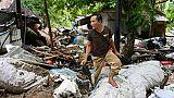 """""""Tout est parti"""": des Indonésiens racontent l'horreur du tsunami"""