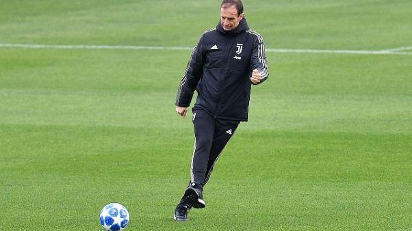 Juventus in campo, terapie per Cuadrado