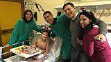 Ronaldo tra bimbi ospedale infantile