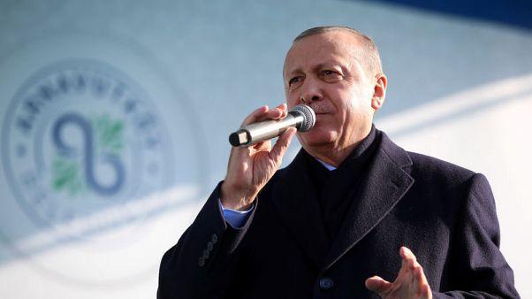 U.S. military officials to meet Turkish counterparts about Syria - Erdogan spokesman