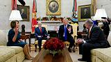 Trump, Democrats spar over shutdown with no deal in sight