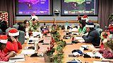 Le Père Noël poursuit sa tournée, traqué par l'armée américaine