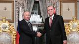 أردوغان يقول إنه سيلتقي مع بوتين لبحث انسحاب أمريكا من سوريا