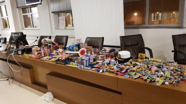 Natale:Bari,sequestrati 'botti' illegali