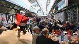 Famiglia di Aleppo a pranzo di Natale