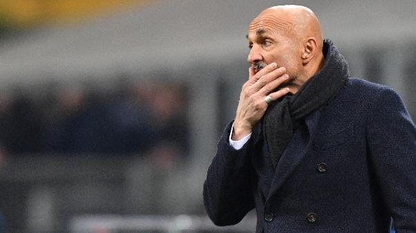 Inter:Spalletti,fare la corsa sul Napoli