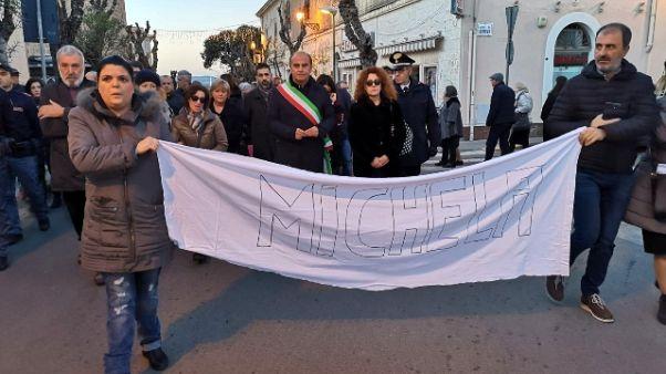 Alghero,in 3mila alla marcia per Michela