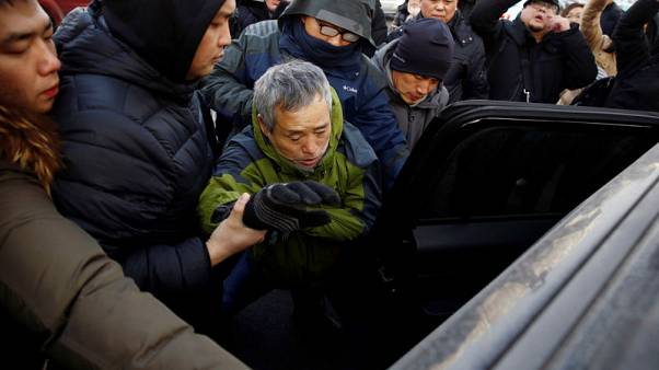 China court locked down for trial of prominent rights lawyer