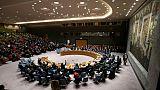Réunion du Conseil de sécurité de l'ONU, le 26 novembre 2018 à New York