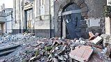 Etna: 10 persone ferite, non sono gravi
