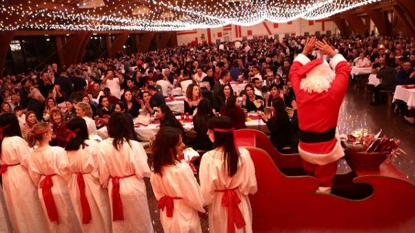 Natale per 1.300 ragazzi a S. Patrignano