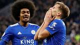 Man City lose again after Ricardo stunner for Leicester