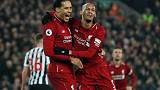 Liverpool thrash Newcastle 4-0 to extend Premier League lead