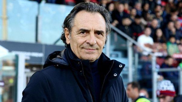 Genoa: Prandelli, bisogna lavorare molto