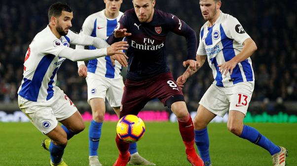 Brighton hold Arsenal to stop losing run
