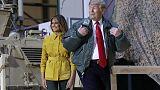 ترامب يدافع عن قرار سحب القوات من سوريا خلال زيارة مفاجئة للعراق