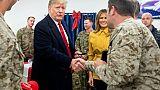 Visite surprise de Trump en Irak à la rencontre des troupes américaines