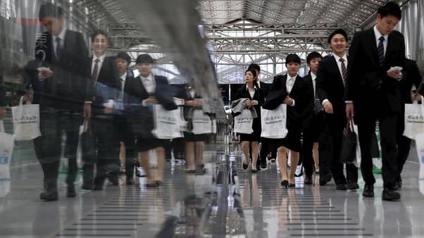 In Japan, a scramble for new workers disrupts traditional hiring