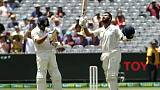 India bats dominate Australia in scorching Melbourne