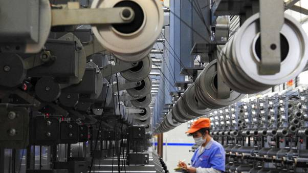 China's industrial profits suffer first annual drop in three years, piles pressure on economy