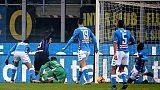 Inter-Napoli, morto tifoso investito da