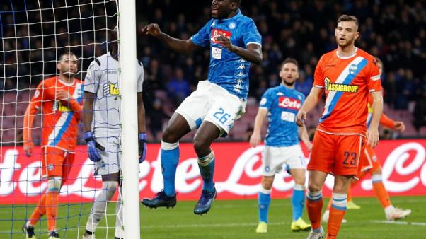 Soccer-Milan mayor apologises to Koulibaly over racist insults