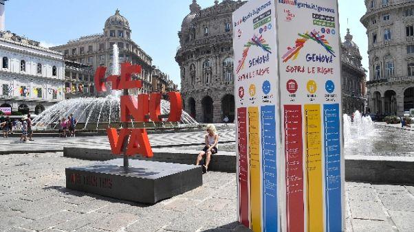 A Genova nel 2018 1,9 mln turisti, +2,88