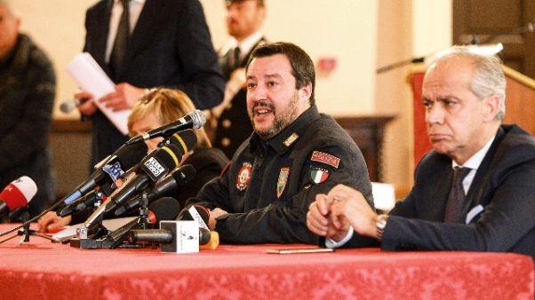 Salvini,Bruzzese chiese 'via protezione'