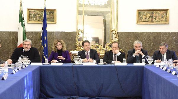 Etna: Conte, domani stato emergenza