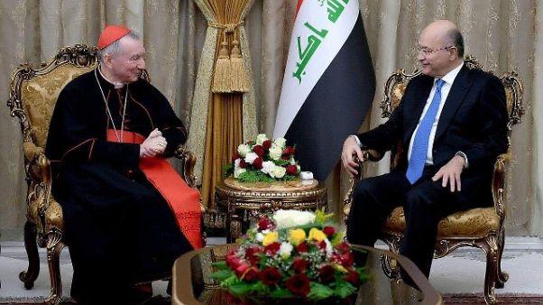 Card. Parolin in Iraq, messa a Erbil
