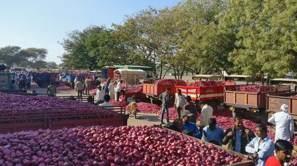 Collapse in India's onion prices could leave Modi smarting in election