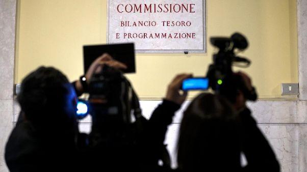Manovra, commissione Camera vota mandato