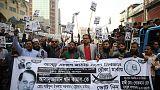 انتهاء حملة انتخابية عنيفة في بنجلادش والتصويت الأحد
