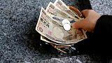 الين الياباني يرتفع مقابل الدولار والفرنك السويسري يصعد