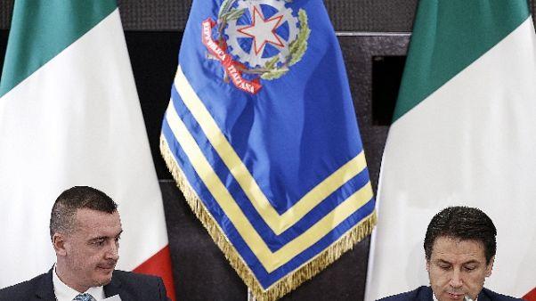 Conte, Di Maio e Salvini ragionevoli