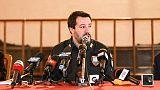 Salvini, chiudere stadi risposta errata