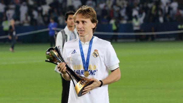 Spagna: Modric rifiuta rinnovo col Real
