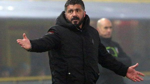 Gattuso, penso a bene del Milan