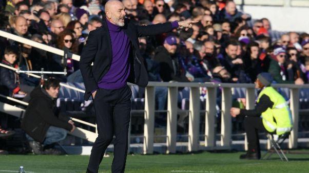 Fiorentina: Pioli, no ai rimpianti