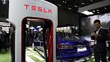 Tesla names Larry Ellison, Kathleen Wilson - Thompson to board