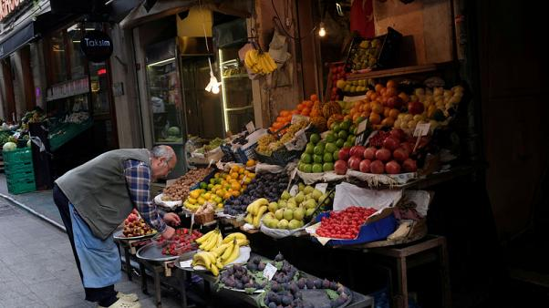 Turkish CPI expected to continue falling from 15-year peak in December, poll shows