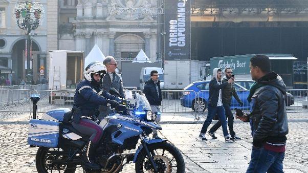 Torino 'blinda' il Capodanno in piazza